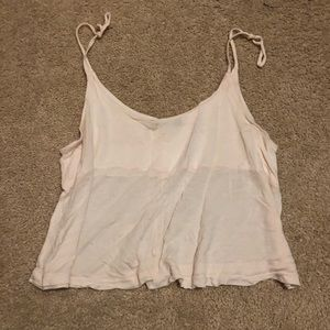 Brandy Melville flowy cropped top